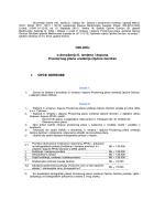Odluka o donošenju II. izmjena i dopuna Prostornog plana