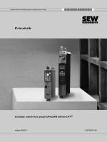 Priručnik Sučelje sabirnice polja DFE24B EtherCAT® - SEW