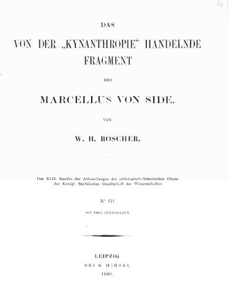den Fragmentes des Marcellus von Side