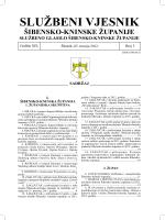 03/12 - Šibensko-kninska županija
