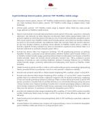 "Uvjeti korištenja Internet paketa ""Internet 150"" MultiPlus mobile usluge"