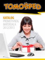 KATALOG PROMOTIVNOG MATERIJALA 2012/2013