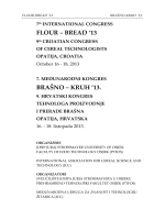 flour – bread `13 brašno – kruh `13. - Prehrambeno