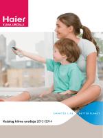 Katalog klima uređaja 2013/2014