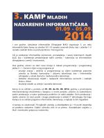 Оглас за КАМП 2014