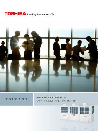 BUSINESS R410A VRF-R410A-TEHNOLOGIJE