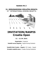 croatia open 2014 - Veslački savez Zagreba