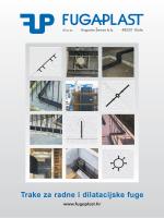Trake Za Radne i Dilatacijske Fuge Preuzmite katalog 6