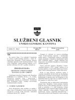 Sluzbeni glasnici 7 - Vlada Unsko