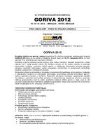GORIVA 2012 - Hrvatsko društvo za goriva i maziva