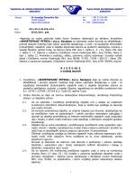 AHMETSPAHIĆ PETROL» doo Saraje - Agencija za vodno područje
