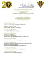 organizacijsko provedbeni odbor svečanog obilježavanja