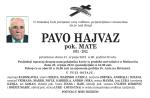 PAVO HAJVAZ