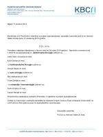 KLINIČKI BOLNIČKI CENTAR RIJEKA Rijeka 17.studeni 2014. Na