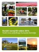 Ruralni razvoj EU nakon 2013. Vodič kroz prijedloge Europske