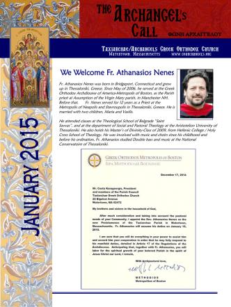 1 January.pub - Taxiarchae/Archangels Greek Orthodox Church
