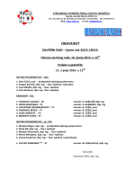 OBAVIJEST - Strojarska tehnička škola Fausta Vrančića