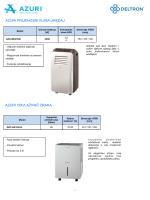azuri prijenosni klima uređaj azuri odvlaživač zraka