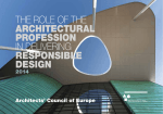 the role of the architectural profession in delivering