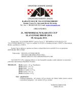 Pozivnica 21. Memorijal SB 2014-H201409