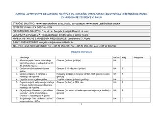 BILJEŠKE 54 - Hrvatsko društvo za kliničku citologiju