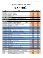 GARMIN - OUTDOOR GPS