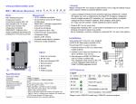 RX1 bežični modul Instalaterski / Srp.