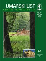 ŠUMARSKI LIST 7-8/2014