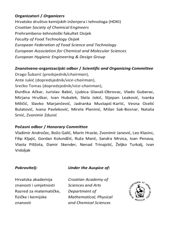 Croatian Society of Chemical Engineers Prehr