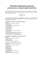 Prijedlog Županijskog popisnog povjerenstva o imenovanju kontrolora