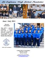 June / July 2011 - St Euphemia College