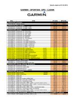 GARMIN - SPORTSKI GPS
