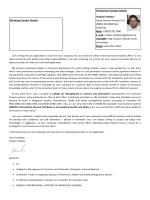 Permanent Contact Details Vladimir Mlakar Ivana Gorana Kovacica