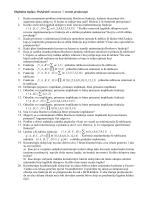 Digitalna logika: Podsjetnik vezan uz 7. termin predavanja 1. Kada