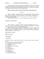 Odluka o donošenju izmjena i dopuna PPUO Bale - Općina Bale