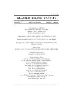 Sadržaj GBZ br. 1-2 dodatak/2015 - Hrvatsko društvo biljne zaštite