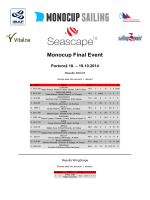 MonoCup 2014 Results - Portoroz (18.
