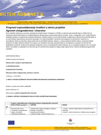 Bilten 6.pdf - Gospodarska škola Čakovec