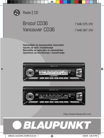 Bristol CD36 Vancouver CD36