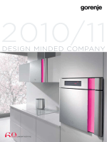 Freestanding and built-in catalogue 2010/2011