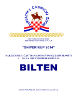 sniper kup 2014 - hrvatski časnički zbor