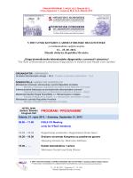 FINALNI PROGRAM 5. KONGRESA, HLU, Šibenik 2013