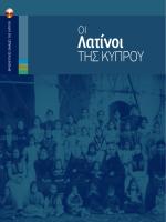 Λατίνοι - Λατινική Κοινότητα της Κύπρου