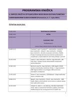 programska knjižica - 6. simpozij društva oftalmoloških medicinskih