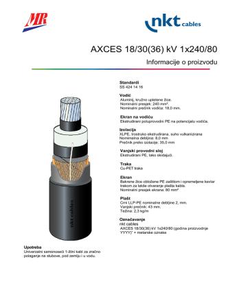 AXCES 18/30(36) kV 3x70/25