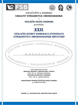 Bilten 2014 jk - Veslački savez Zagreba