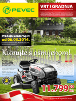 Pevec katalog Vrt i gradnja od 13.03. do 31.03.2014.