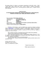 Javni natječaj za povjeravanje komunalnih poslova