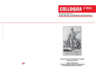 COLLOQUIA 3/2012. - Kula Jankovića