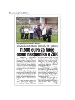 """""""Dnevni avaz"""", 26.10.2014."""